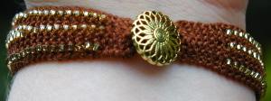 Basic Beaded Bracelet Fastening