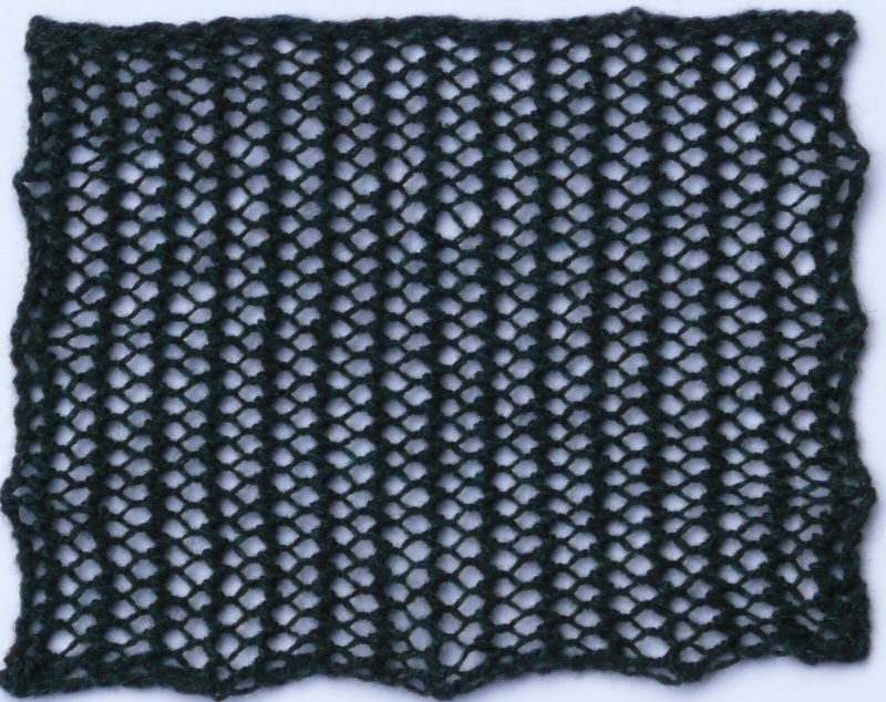 Knit Mesh Stitch In The Round : Lace Heather Knits