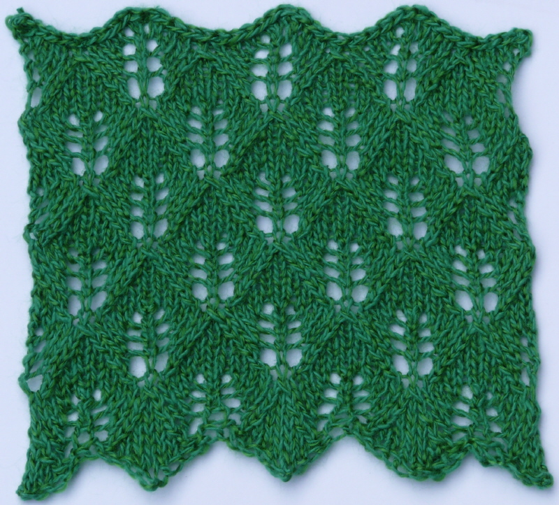 Lace Heather Knits