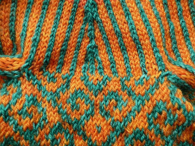 Knitting Grafting Underarm Stitches : Stranded knitting heather knits